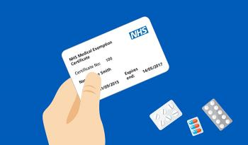 nhs exemption card application form